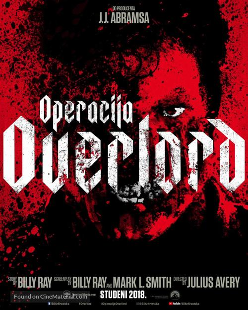 Overlord - Croatian Movie Poster