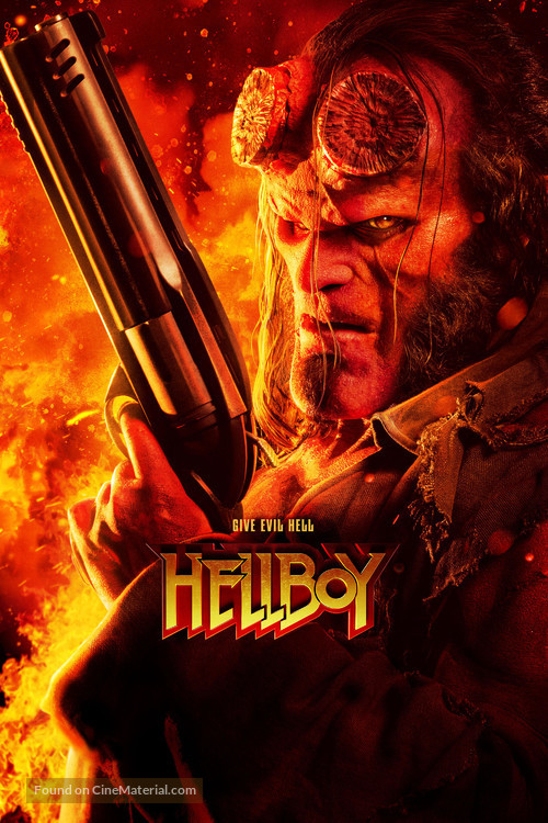 Hellboy - Video on demand movie cover