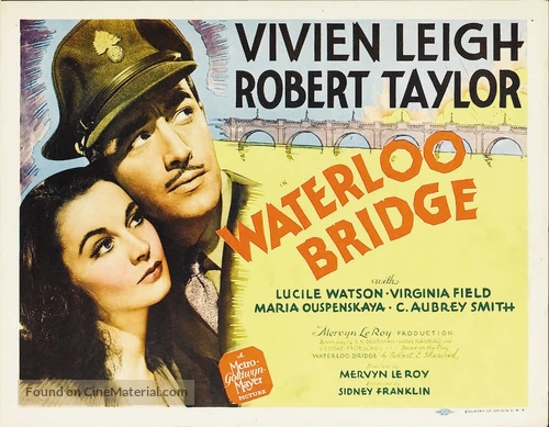 Waterloo Bridge - Movie Poster