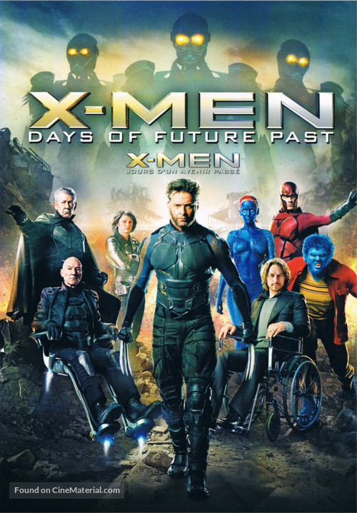 X-Men: Days of Future Past - Canadian Movie Cover