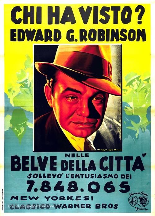 Bullets or Ballots - Italian Movie Poster