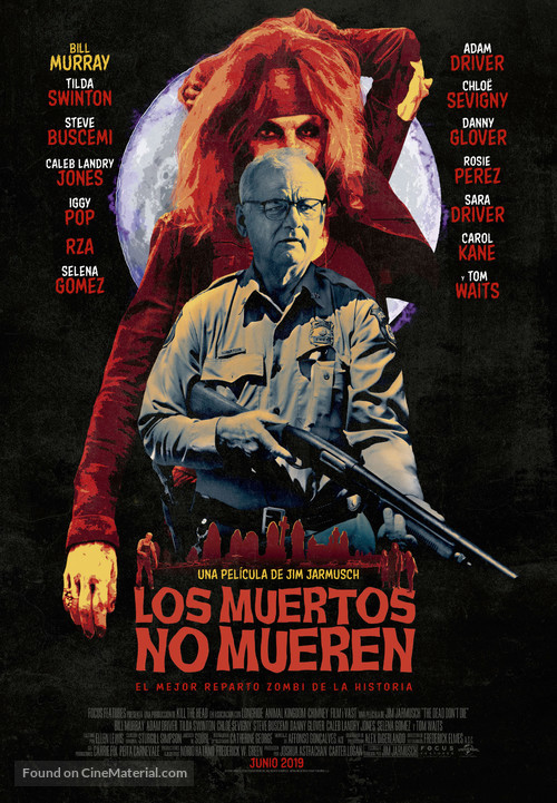 The Dead Don't Die - Spanish Movie Poster