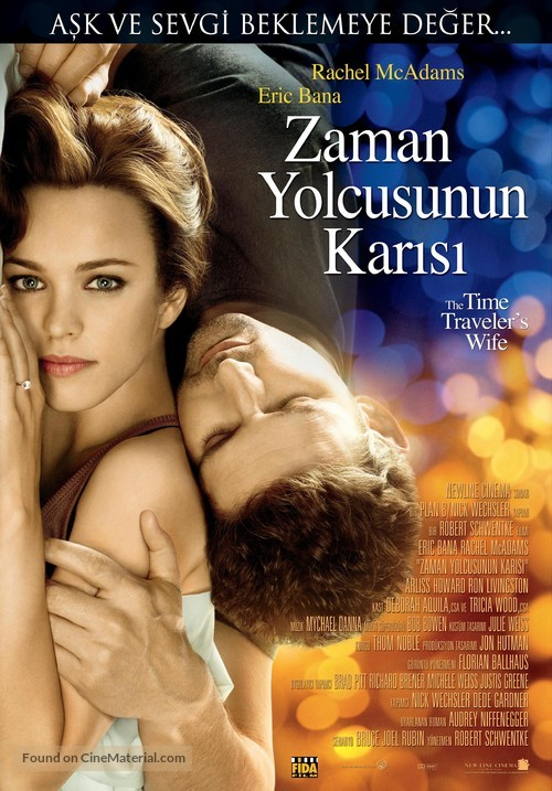 The Time Traveler's Wife - Turkish Movie Poster