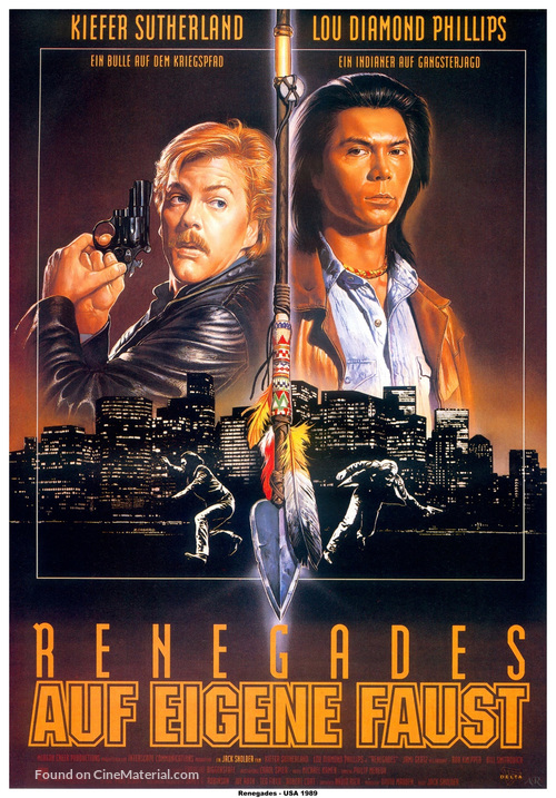 Renegades - German Movie Poster