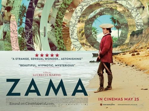 Zama - British Movie Poster