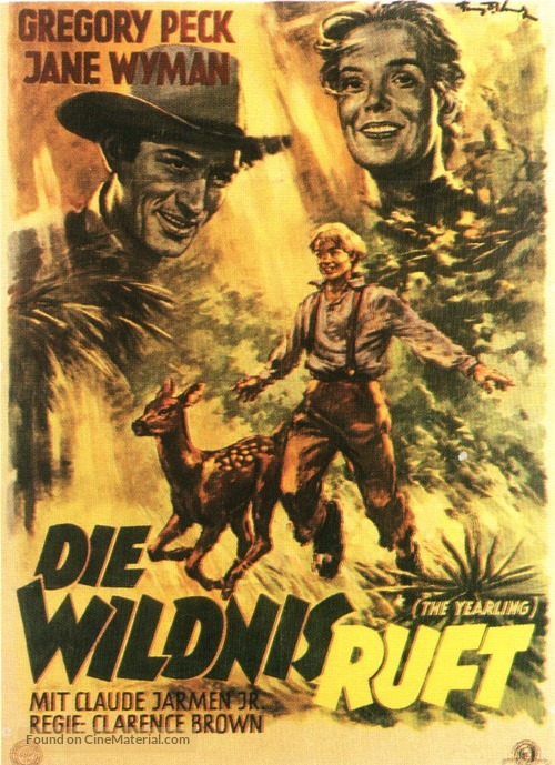 The Yearling German movie poster
