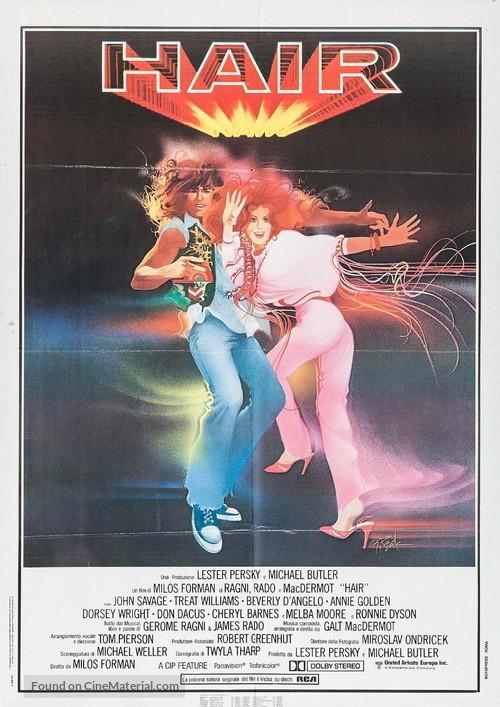 Hair - Italian Movie Poster