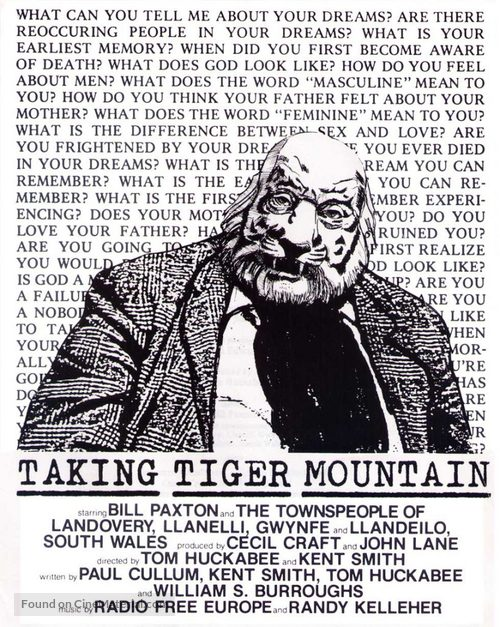 Taking Tiger Mountain - Movie Poster