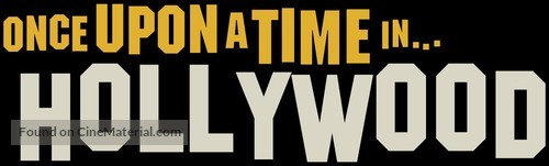 Once Upon a Time in Hollywood - Logo