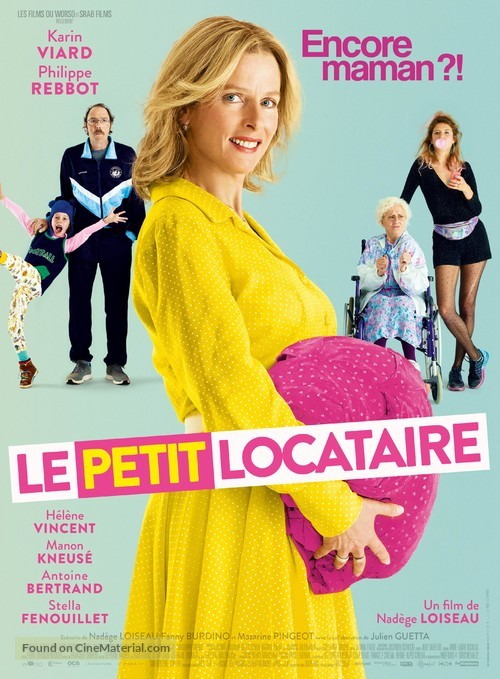 Le petit locataire - French Movie Poster