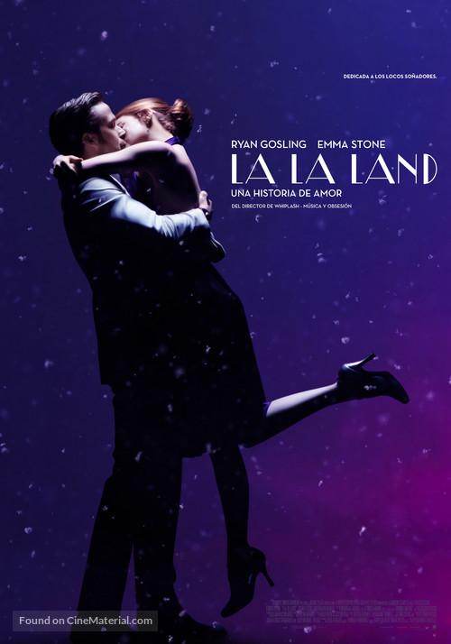 La La Land - Argentinian Movie Poster