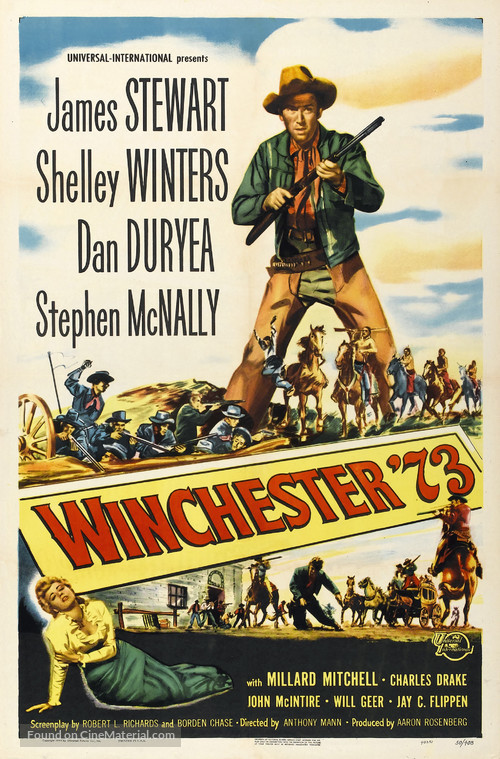 Winchester '73 - Movie Poster