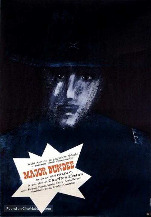 Major Dundee - Polish Movie Poster
