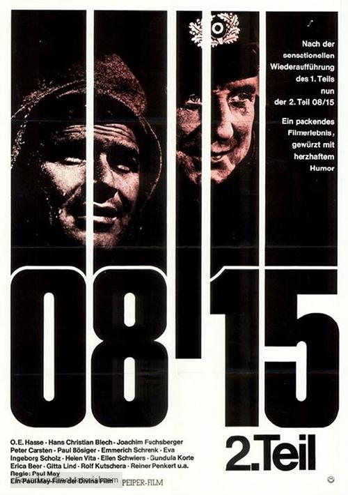 08/15 - Zweiter Teil - German Movie Poster