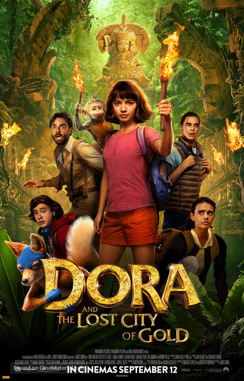 Dora and the Lost City of Gold - Australian Movie Poster