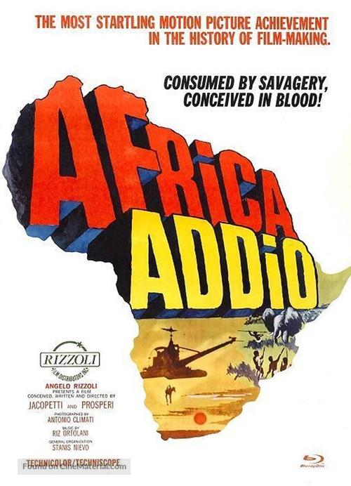 Africa addio - German Blu-Ray movie cover