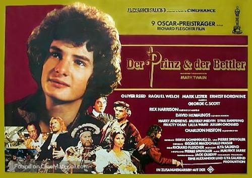 Crossed Swords - German Movie Poster