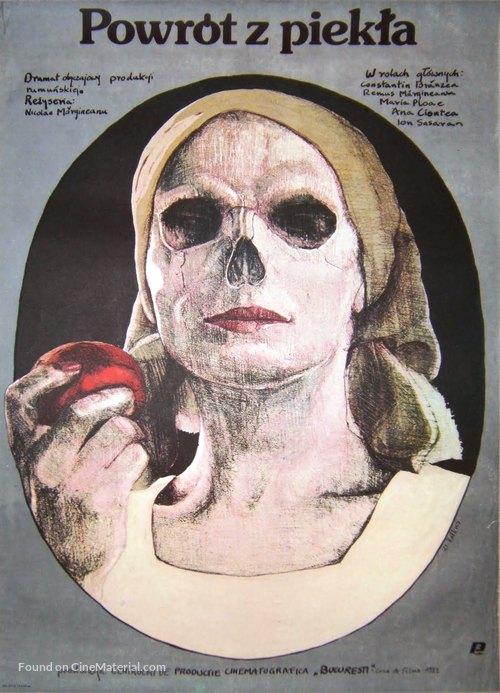 Intoarcerea din iad - Polish Movie Poster