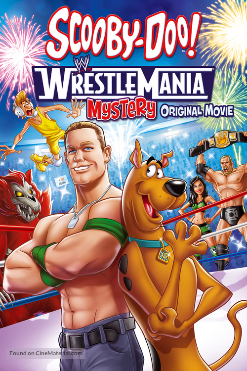 Scooby-Doo! WrestleMania Mystery - DVD cover