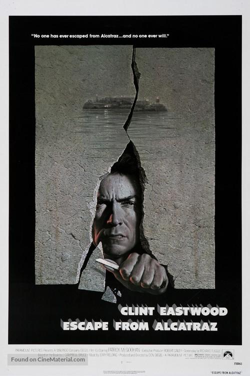Escape From Alcatraz - Movie Poster