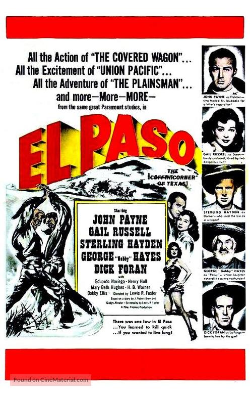 El Paso - Movie Poster