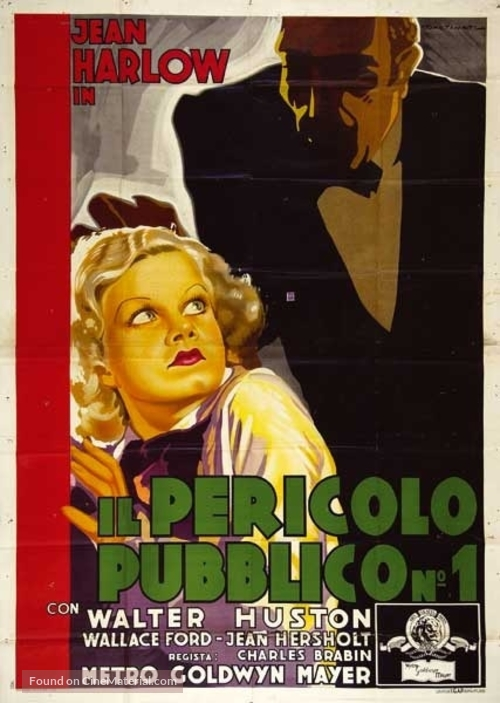 The Beast of the City - Italian Movie Poster