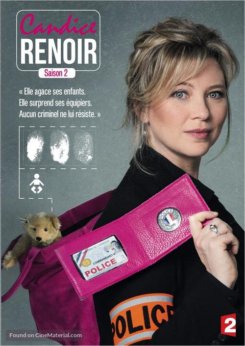 """Candice Renoir"" - French DVD cover"