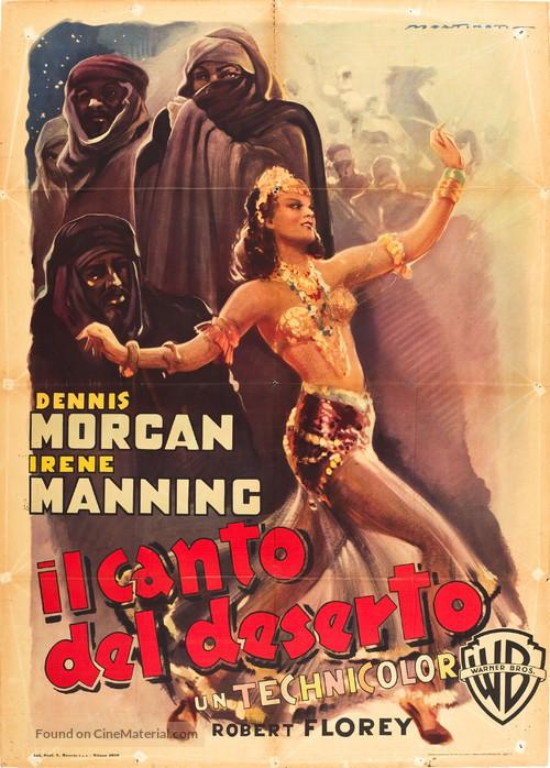 The Desert Song - Italian Movie Poster
