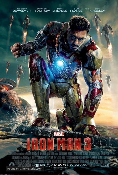 Iron Man 3 - Movie Poster