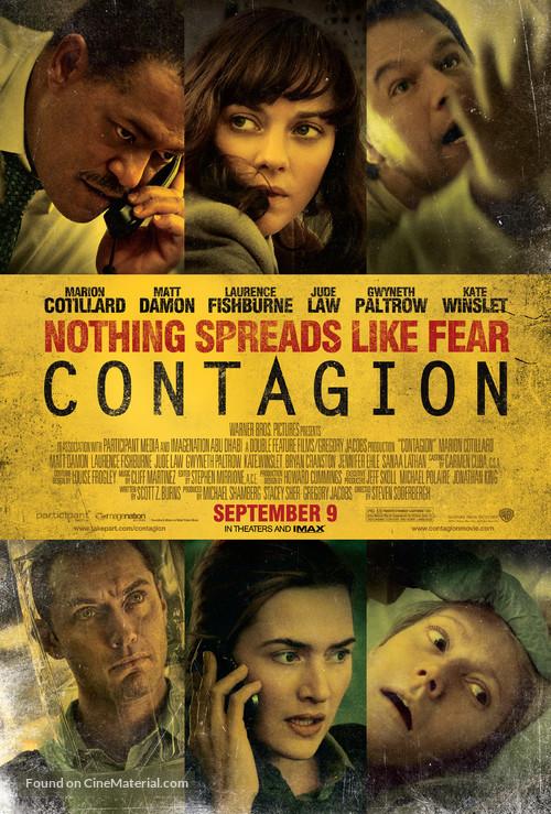 Contagion - Movie Poster