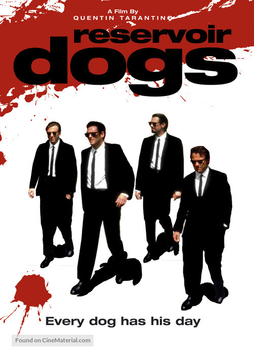 Reservoir Dogs - DVD movie cover