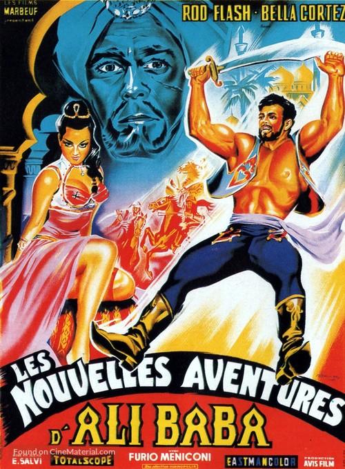 Le 7 fatiche di Alì Babà - French Movie Poster