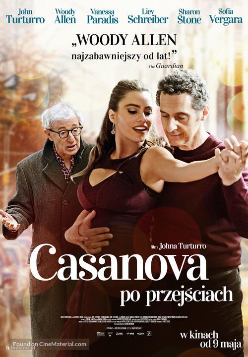 Fading Gigolo - Polish Movie Poster
