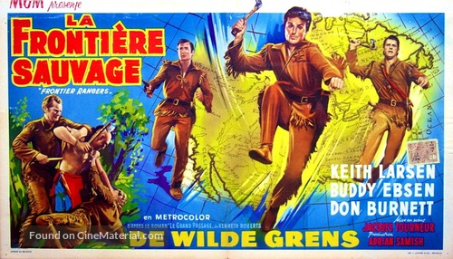 Frontier Rangers - Belgian Movie Poster
