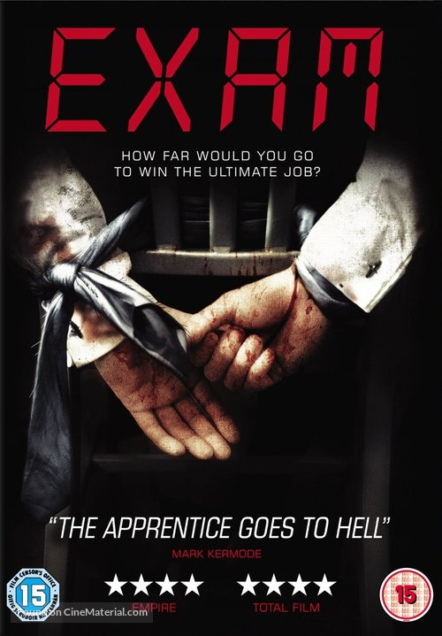 Exam - British DVD cover