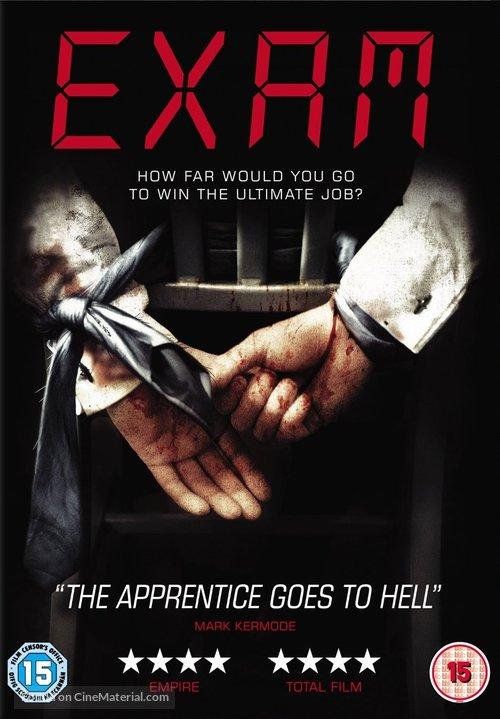 Exam - British DVD movie cover