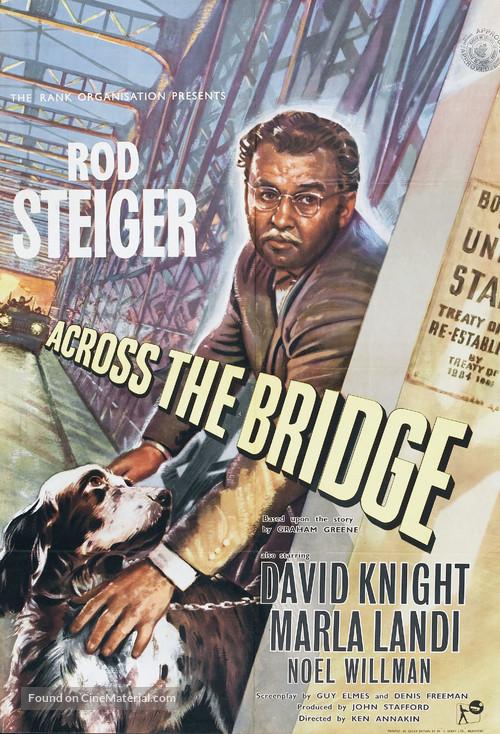 Across the Bridge - British Movie Poster