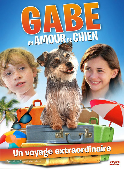 Gabe the Cupid Dog - French DVD movie cover