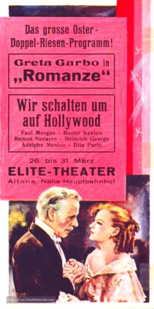 Romance - German Movie Poster