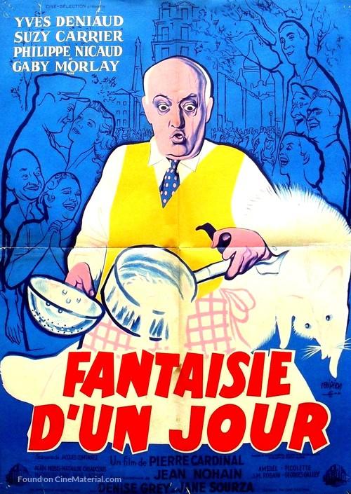 Fantaisie d'un jour - French Movie Poster