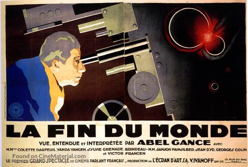 La fin du monde - French Movie Poster