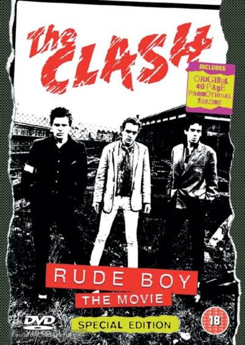 Rude Boy - British DVD cover