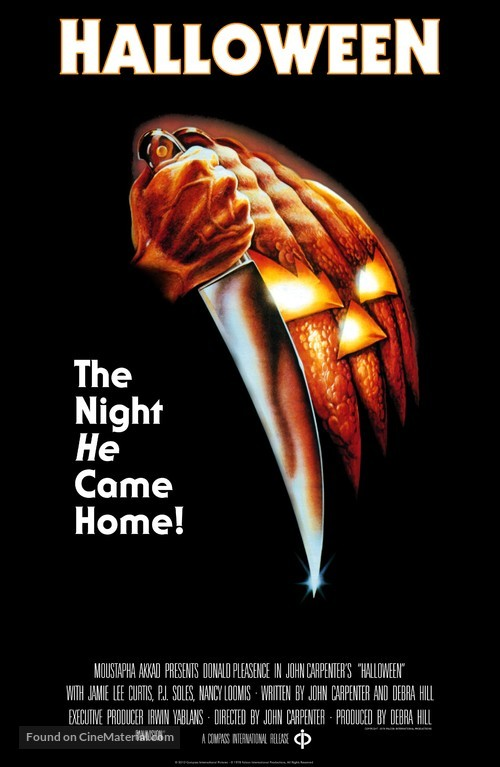 Halloween - Theatrical movie poster