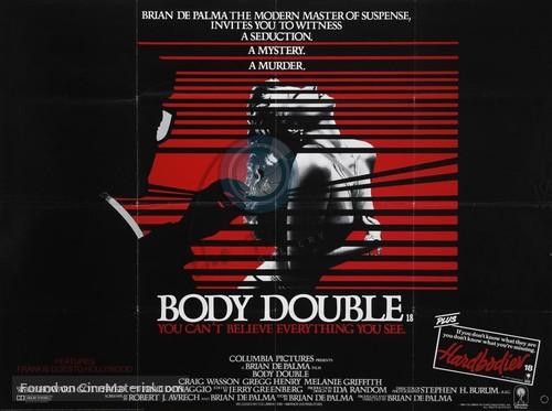 Body Double - British Movie Poster