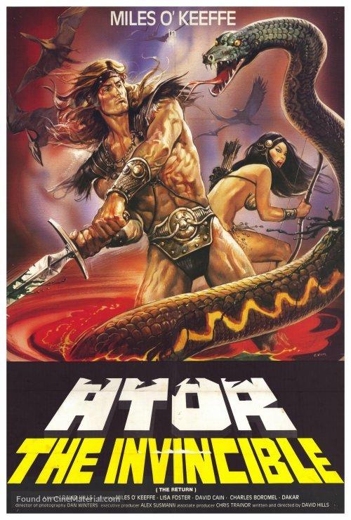 Ator 2 - L'invincibile Orion - Movie Poster