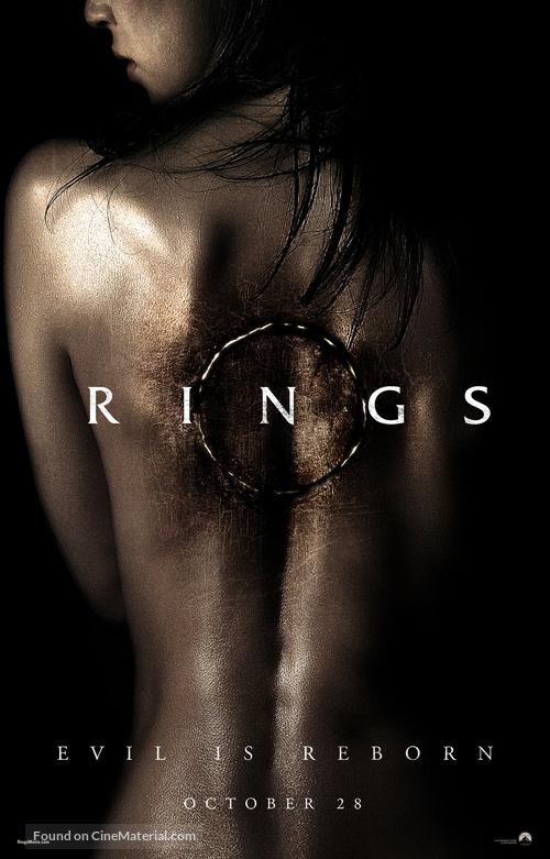 Rings - Movie Poster