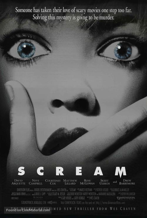 Scream - Movie Poster