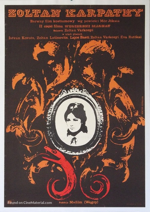 Kárpáthy Zoltán - Polish Movie Poster