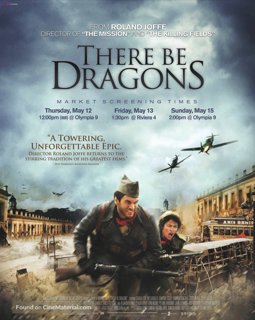 There Be Dragons - Movie Poster