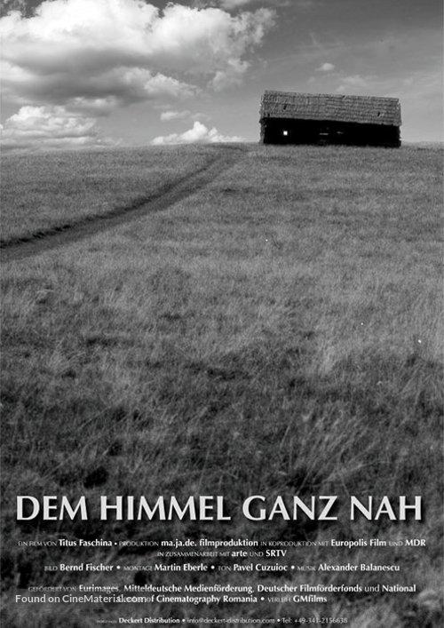 Dem Himmel ganz nah - German Movie Poster